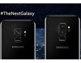 """Samsung gửi thư mời ra mắt """"bom tấn"""" Galaxy S9 ngày 25/2"""