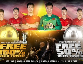 Kingdom tặng phần quà 1,5 tỷ đồng cho U23 Việt Nam ở trận chung kết