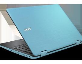Dòng laptop Spin Series gập xoay 360 độ, màn hình cảm ứng ra mắt tại Việt Nam