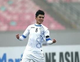 """Cầu thủ U23 Uzbekistan được HLV Park Hang Seo """"soi"""" kỹ là ai?"""