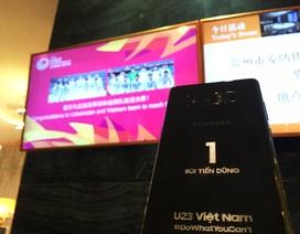 """Các công ty công nghệ tặng quà """"khủng"""" cổ vũ U23 Việt Nam trước trận chung kết"""