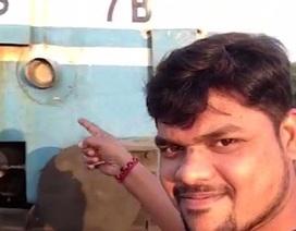 Chấn thương não vì cố chụp ảnh selfie với đoàn tàu đang chạy