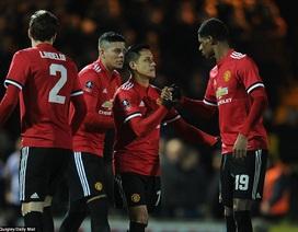 Sanchez ra mắt, MU giành vé vào vòng 5 FA Cup