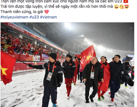"""Cộng đồng mạng vẫn gọi U23 Việt Nam là """"nhà vô địch"""" sau trận chung kết cam go"""