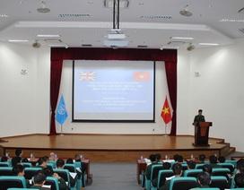 Sĩ quan Việt Nam được huấn luyện tham gia hoạt động gìn giữ hòa bình của Liên Hợp Quốc