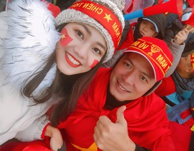Nghệ sĩ xót xa cho các tuyển thủ U23 Việt Nam gặp bất lợi vì băng tuyết