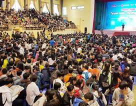 Hơn 5.000 học sinh dự tư vấn tuyển sinh - hướng nghiệp 2018