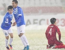 """Tờ ESPN: """"U23 Việt Nam gặp bất lợi khi đá trên sân mưa tuyết"""""""