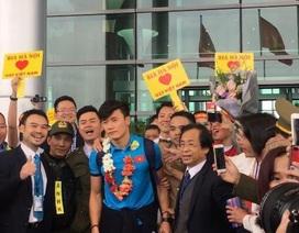 Bia Hà Nội cùng đón và vinh danh đội tuyển U23 Việt Nam
