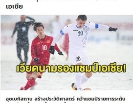 """Báo Thái Lan """"tan nát cõi lòng"""" trước thất bại của U23 Việt Nam"""