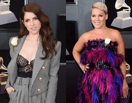 """Lý do """"Sao"""" mang hồng trắng lên thảm đỏ Grammy"""