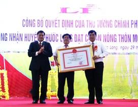 """""""Huyện nợ"""" đã được công nhận đạt chuẩn nông thôn mới"""