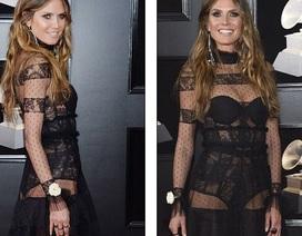 44 tuổi, Heidi Klum vẫn mặc quá bạo
