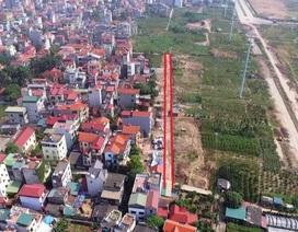 Hà Nội: Sửa sai vụ lấy đất đấu giá, làm đường rộng 1m cho dân