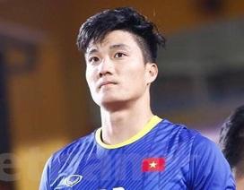 Thủ môn dự bị U23 Việt Nam đẹp trai không kém gì Bùi Tiến Dũng