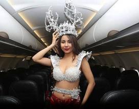 Bộ Văn hoá yêu cầu xử nghiêm vụ biểu diễn phản cảm trên máy bay đón U23