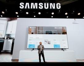 Samsung dẫn đầu màn hình lớn, đi đầu xu hướng TV 8K