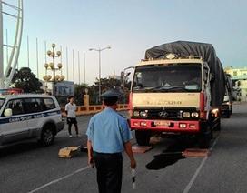 Đà Nẵng kiểm soát xe chở hàng hóa quá tải