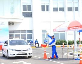 Bùng nổ các hoạt động Lái xe an toàn của Honda Việt Nam trong năm 2017