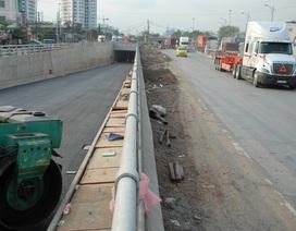"""Thông xe hầm chui, mở """"nút thắt"""" vào cảng lớn nhất Việt Nam"""