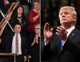 Người đào tẩu Triều Tiên làm khách mời đặc biệt của ông Trump trong Thông điệp Liên bang