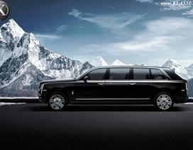 Hơn 2 triệu USD cho một phiên bản Rolls-Royce Cullinan bọc thép