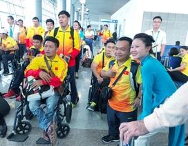 Vietnam Airlines phục vụ Đoàn thể thao Việt Nam dự Asian Para Games 3