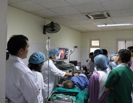 Chuyên gia Nhật Bản trình diễn 5 ca mổ nội soi bệnh lý tiêu hóa khó tại Bệnh viện E