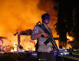 Hơn 1200 tù nhân vượt ngục sau động đất, sóng thần ở Indonesia
