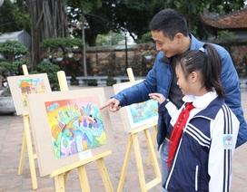 """Hơn 700 trường tiểu học Hà Nội thi vẽ tranh """"Sải cánh vươn cao"""" 2018"""