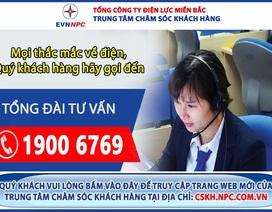 EVNNPC cảnh báo số điện thoại 1900.6796 mạo dạnh Tổng đài ngành điện