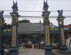 Vụ phá đình 300 tuổi ở Hà Nội: Kỷ luật 3 cán bộ xã