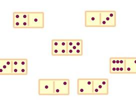 """Toán tương tác: Giải mã đề bài """"Ai xếp được nhiều quân domino nhất"""""""