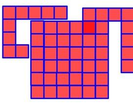Toán tương tác: Đáp án bài đố miếng ghép chữ L tạo hình vuông đặc