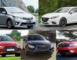 """Lượng bán sedan tăng nhanh vì dân Việt """"nghiền"""" mẫu xe truyền thống"""