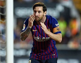 """Vì sao France Football """"xử phũ"""" với Messi?"""