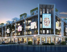 """Xuất hiện khu phố mua sắm """"phong cách quốc tế"""" đầu tiên tại Việt Nam"""
