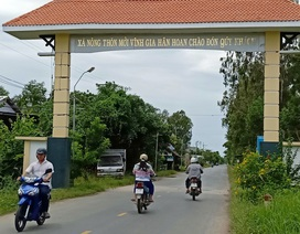 Xã biên giới phát triển… nhờ xây dựng Nông thôn mới