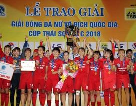 Thắng chủ nhà TPHCM, Hà Nam lần đầu tiên vô địch bóng đá nữ quốc gia