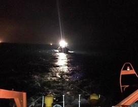 Cứu hộ thành công tàu cá bị hỏng máy cùng 18 thuyền viên