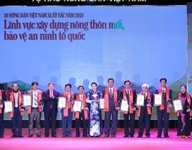 Tôn vinh 63 Nông dân Việt Nam xuất sắc 2018
