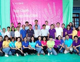 Tập đoàn Chubb chung tay góp sức vì cộng đồng