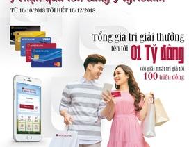 """Cơ hội nhận ưu đãi """"Kép"""" khi mở tài khoản và sử dụng dịch vụ của Agribank"""
