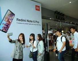 Xiaomi Redmi Note 6 Pro xác lập kỷ lục selfie tại Việt Nam trong 3 phút