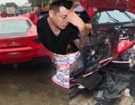 Ca sĩ Tuấn Hưng lên tiếng sau vụ siêu xe 16 tỷ bị tai nạn kinh hoàng