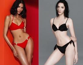 Á hậu Hoàng Thùy khoe dáng nóng bỏng với bikini