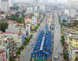 """Toàn cảnh tuyến đường trên cao gần 10.000 tỷ """"giải cứu"""" giao thông Ngã Tư Sở - cầu Vĩnh Tuy"""