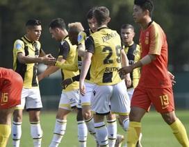 Đội U21 Trung Quốc của Hiddink thảm bại trên đất Hà Lan