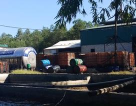 Bất lực với xưởng tái chế dầu diezen trái phép gây ô nhiễm?
