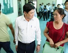Lãnh đạo TPHCM cam kết giải quyết khách quan cho người dân Thủ Thiêm